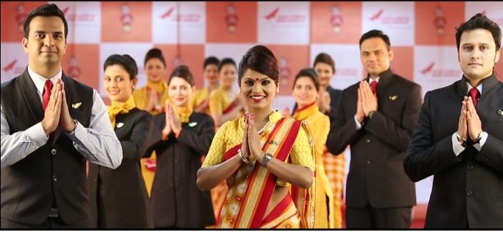 Air India-New uniform-Trousers-Airhostess