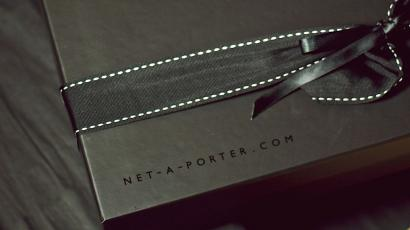 A delivery from Net-a-Porter