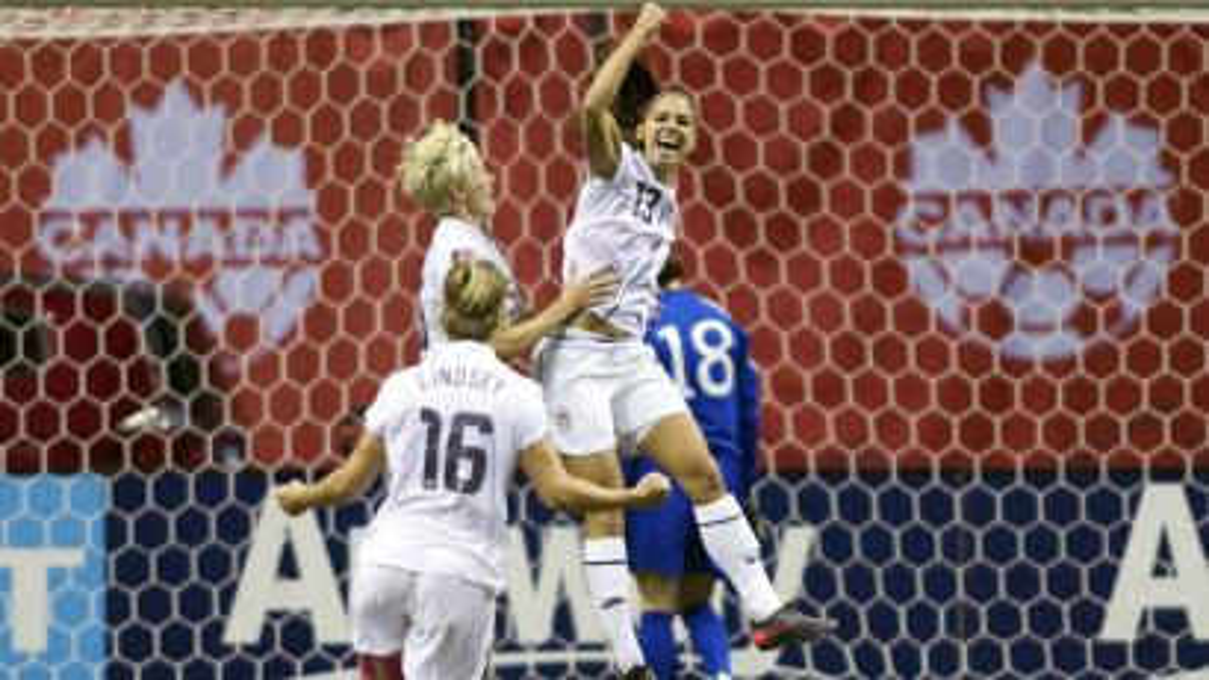 Alex Morgan US women's soccer team
