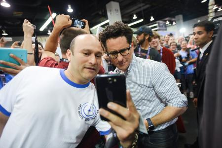 JJ Abrams with fans