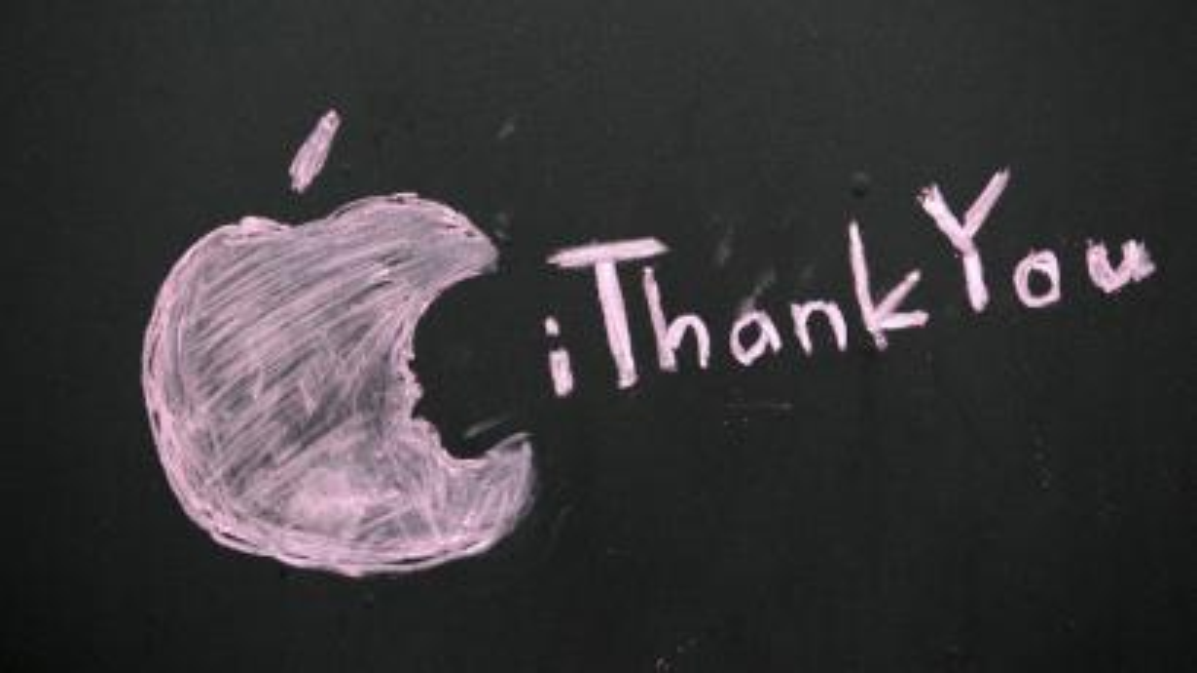 Apple shift key thank you