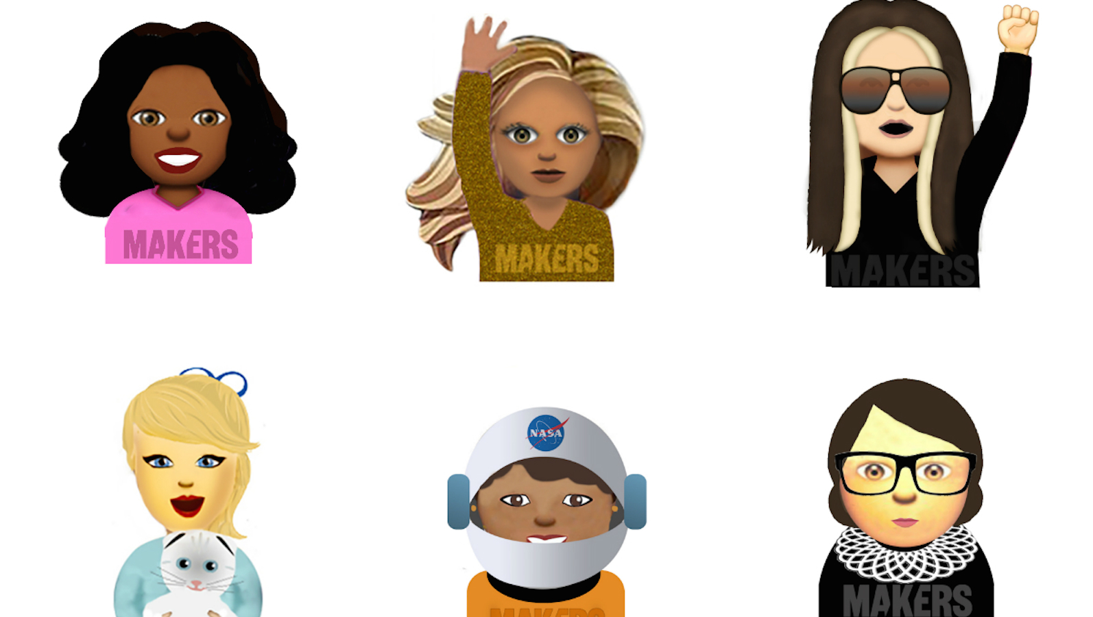 Feminist emojis are for everyone!