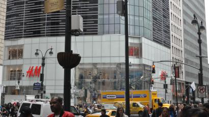 The world's largest H&M (for now) at Herald Square