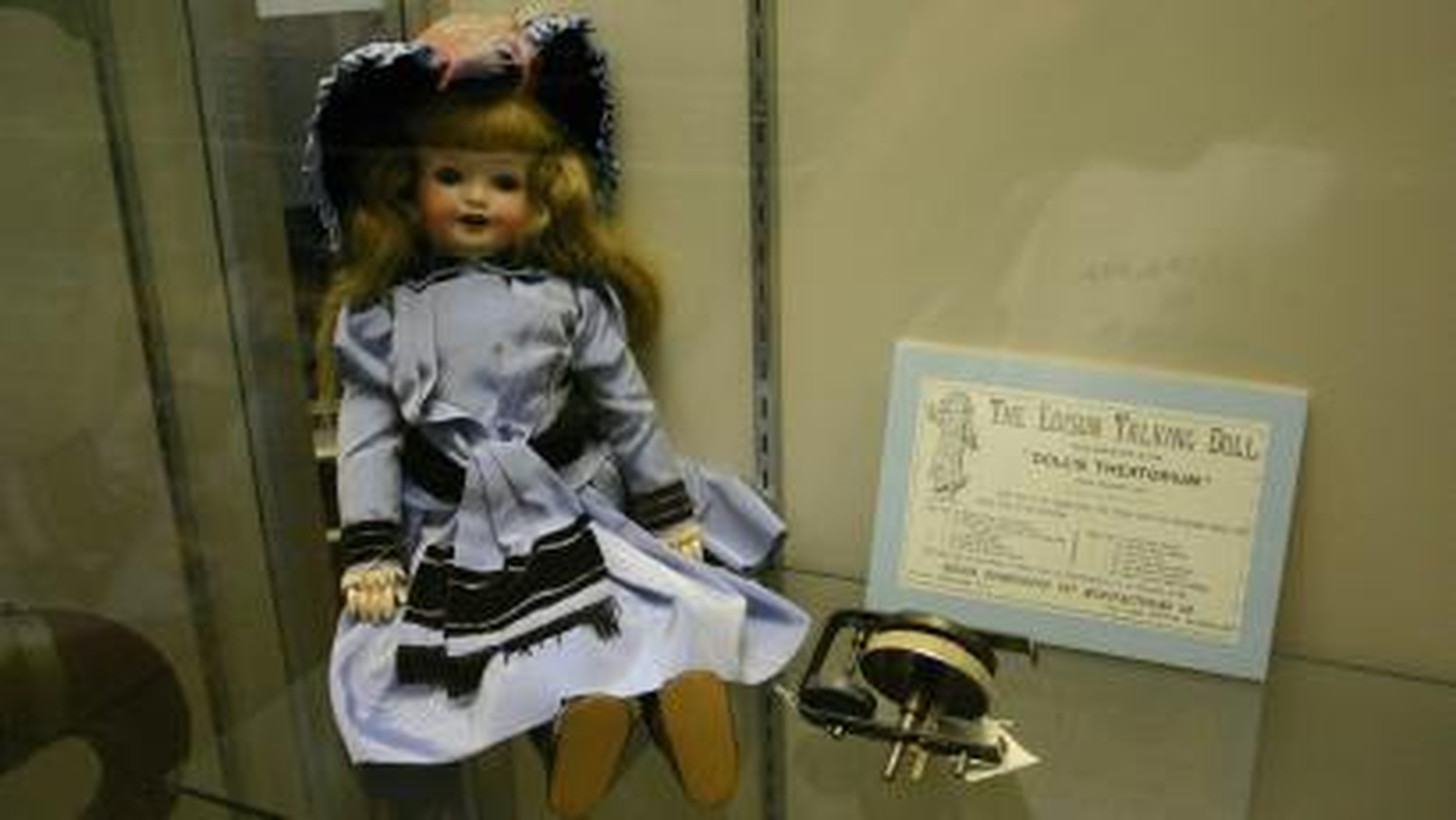 Thomas Edison talking doll