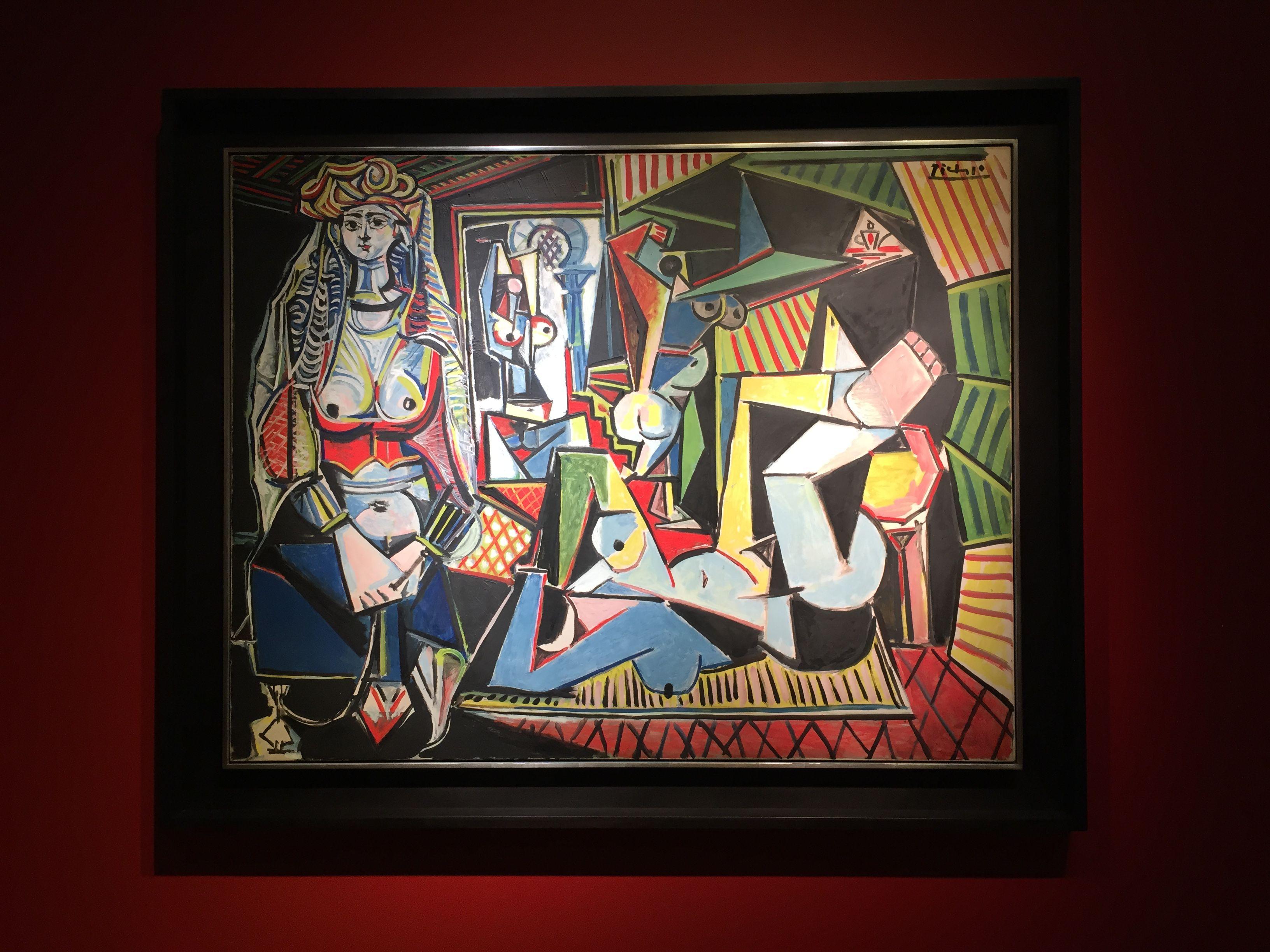 """Pablo Picasso's """"Les Femmes d'Alger (Version 'O')"""""""