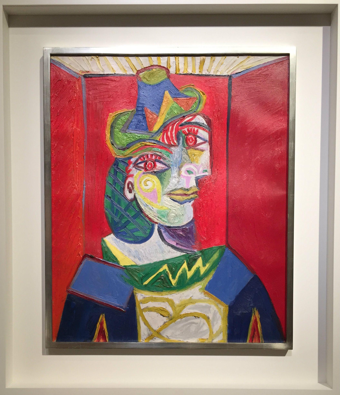 """Picasso's """"Buste de femme (Femme à la résille)"""""""