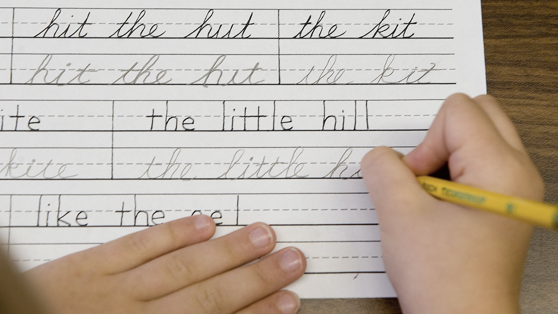What learning cursive really taught me — Quartz