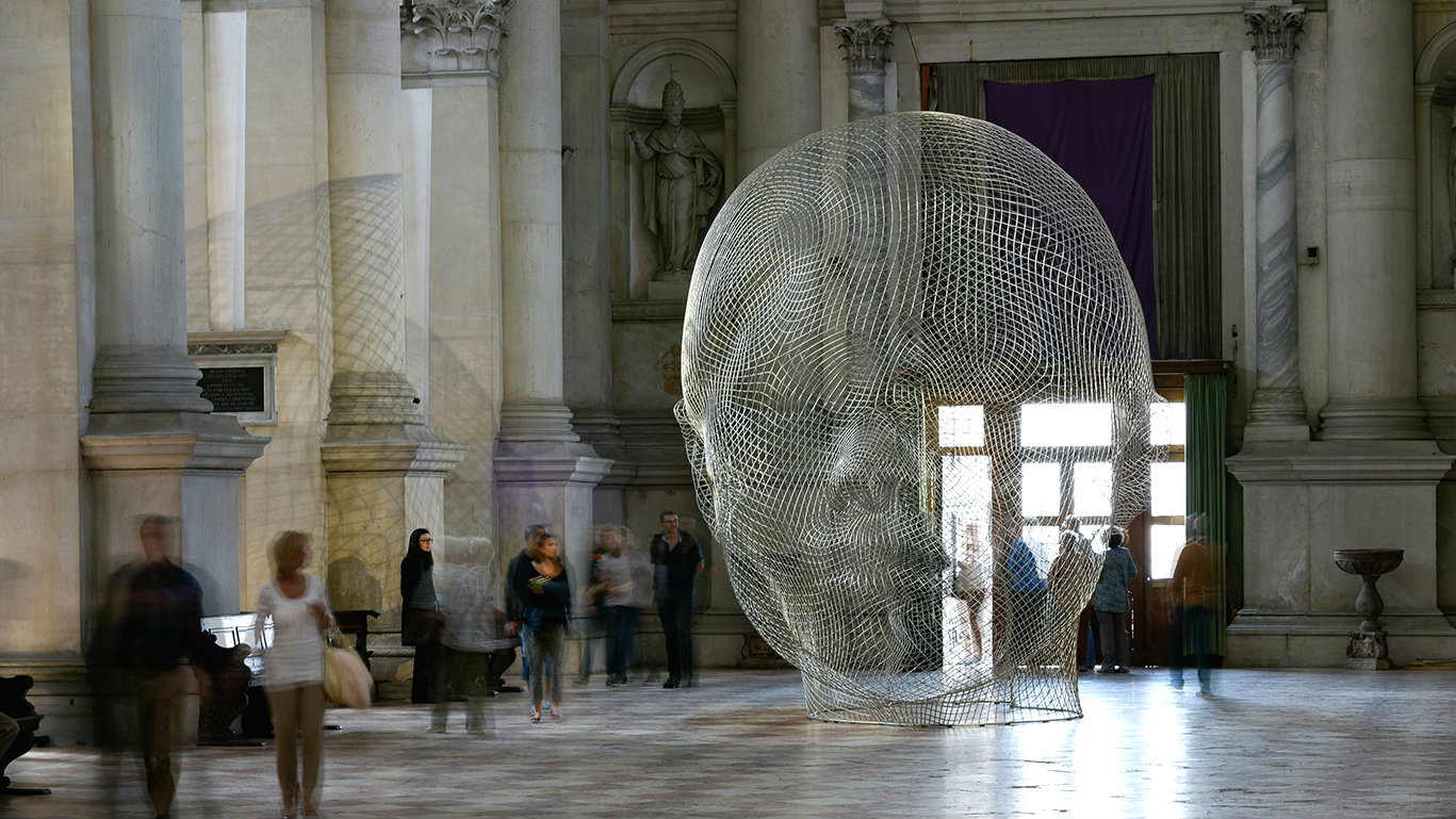 """""""Together"""" by Jaume Plensa"""
