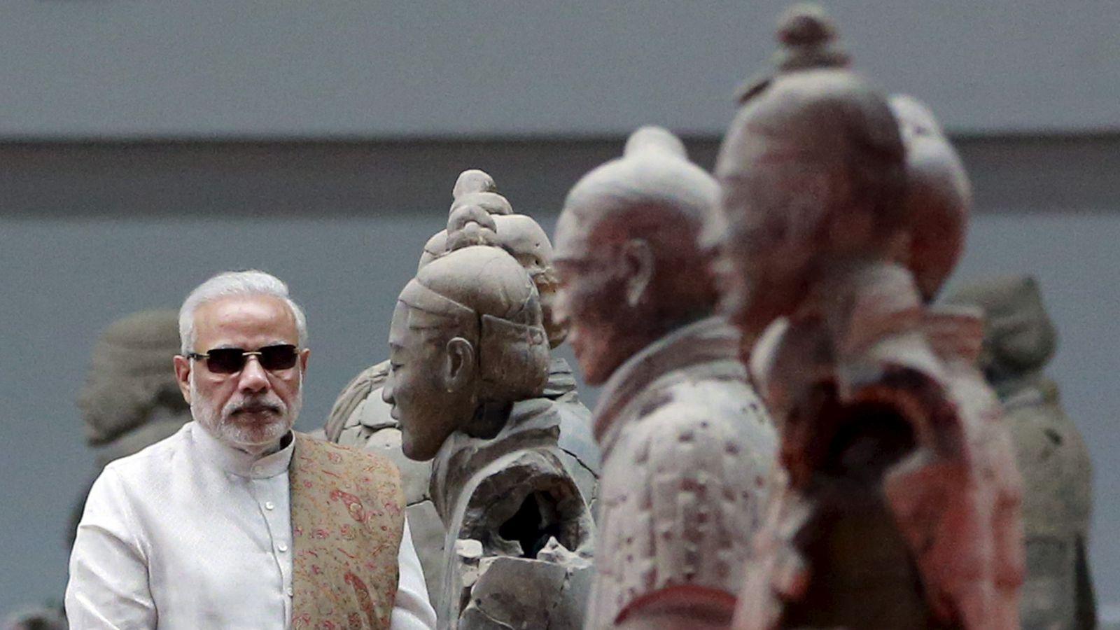 India-China-Modi