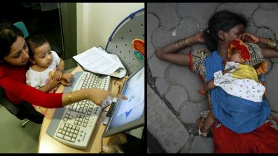 India-slum-inequality