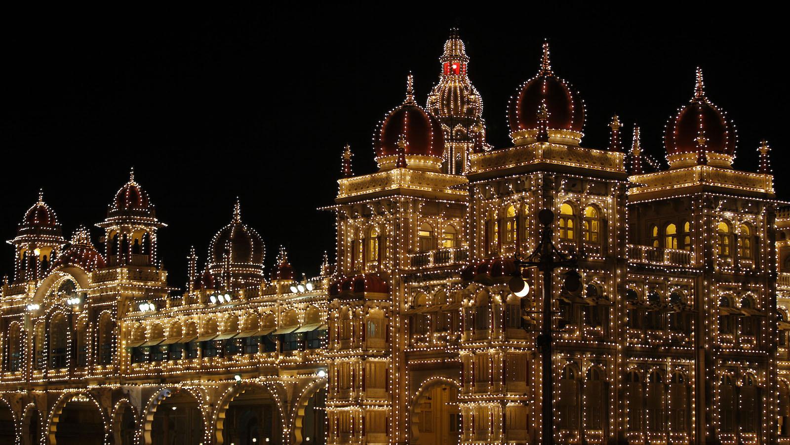 Mysore palace-New King