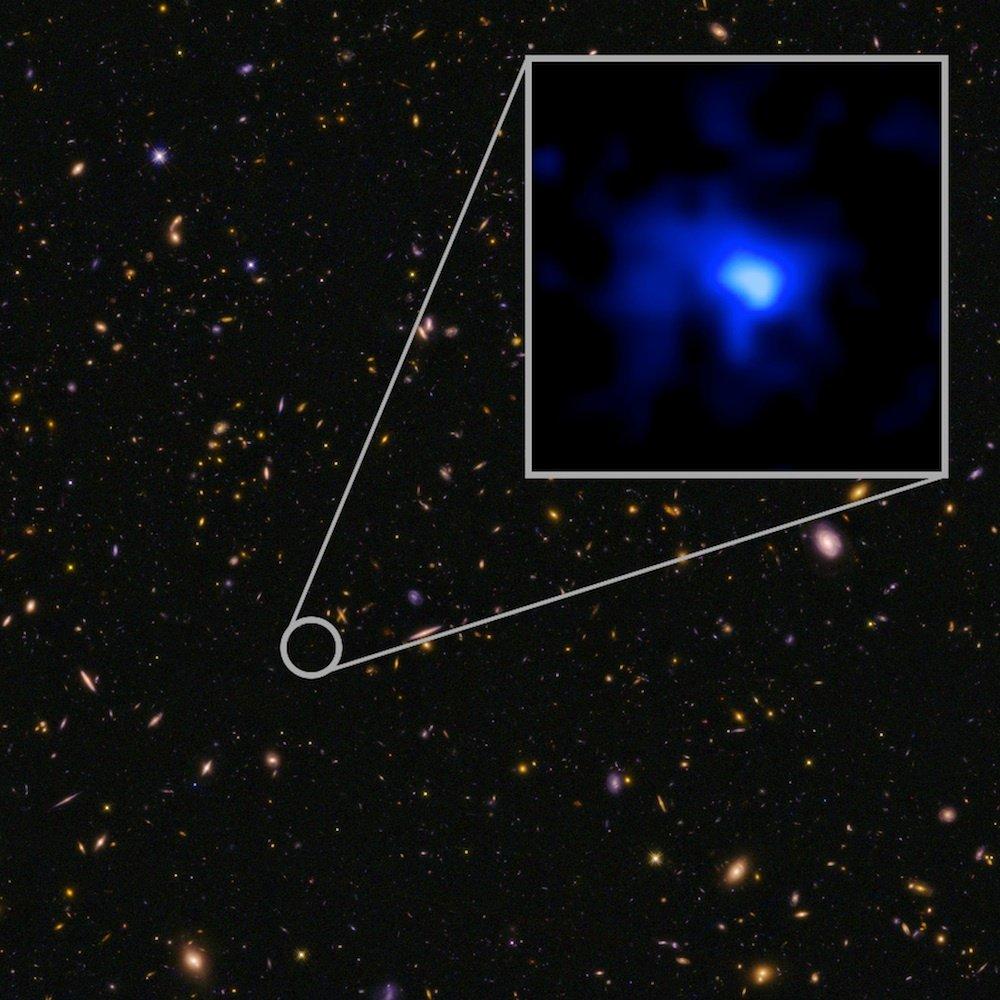 NASA oldest galaxy