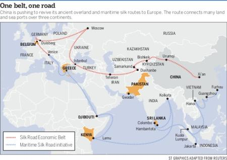 Road Map Of France And Italy.Italy To Sign Up For China S Belt And Road Project Quartz