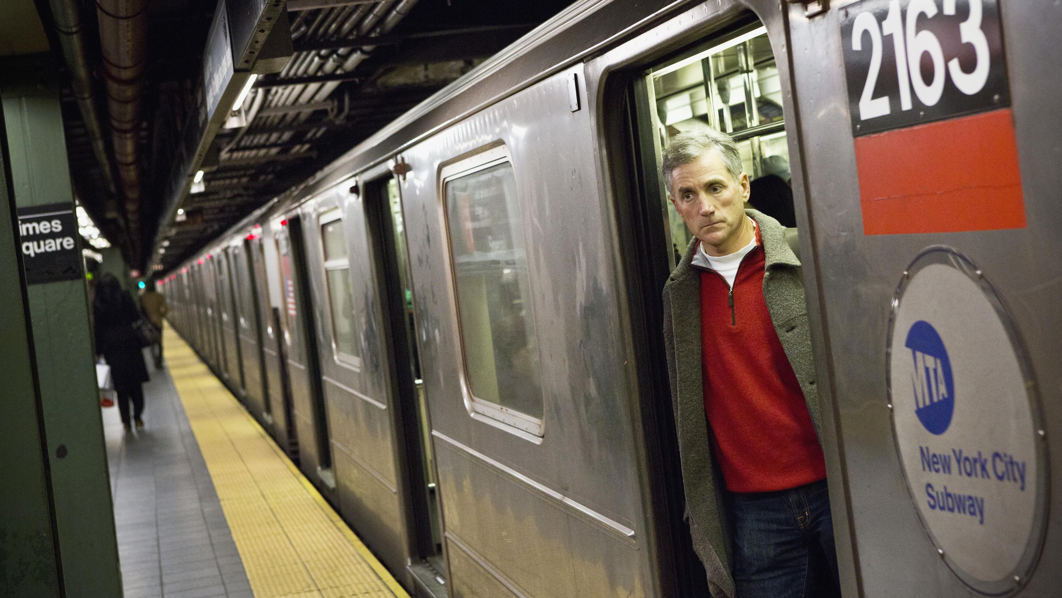 Honest New York City subway announcements — Quartz