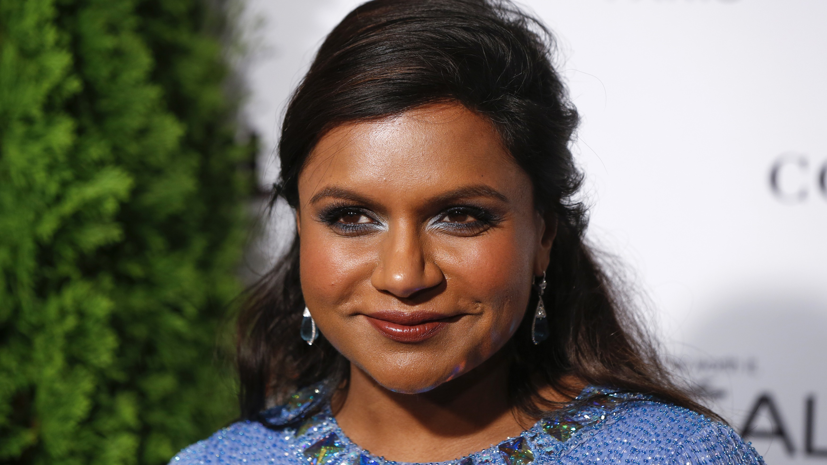 Actress Mindy Kaling arrives for Glamour Magazine's annual Women of the Year award ceremony in New York November 10, 2014.  REUTERS/Lucas Jackson (UNITED STATES - Tags: ENTERTAINMENT HEADSHOT) - RTR4DNMQ