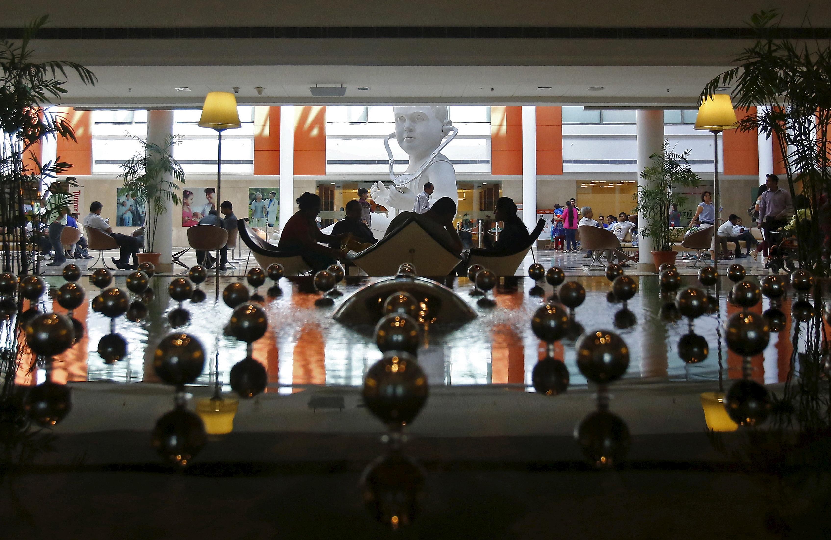 Luxury hospitals-India