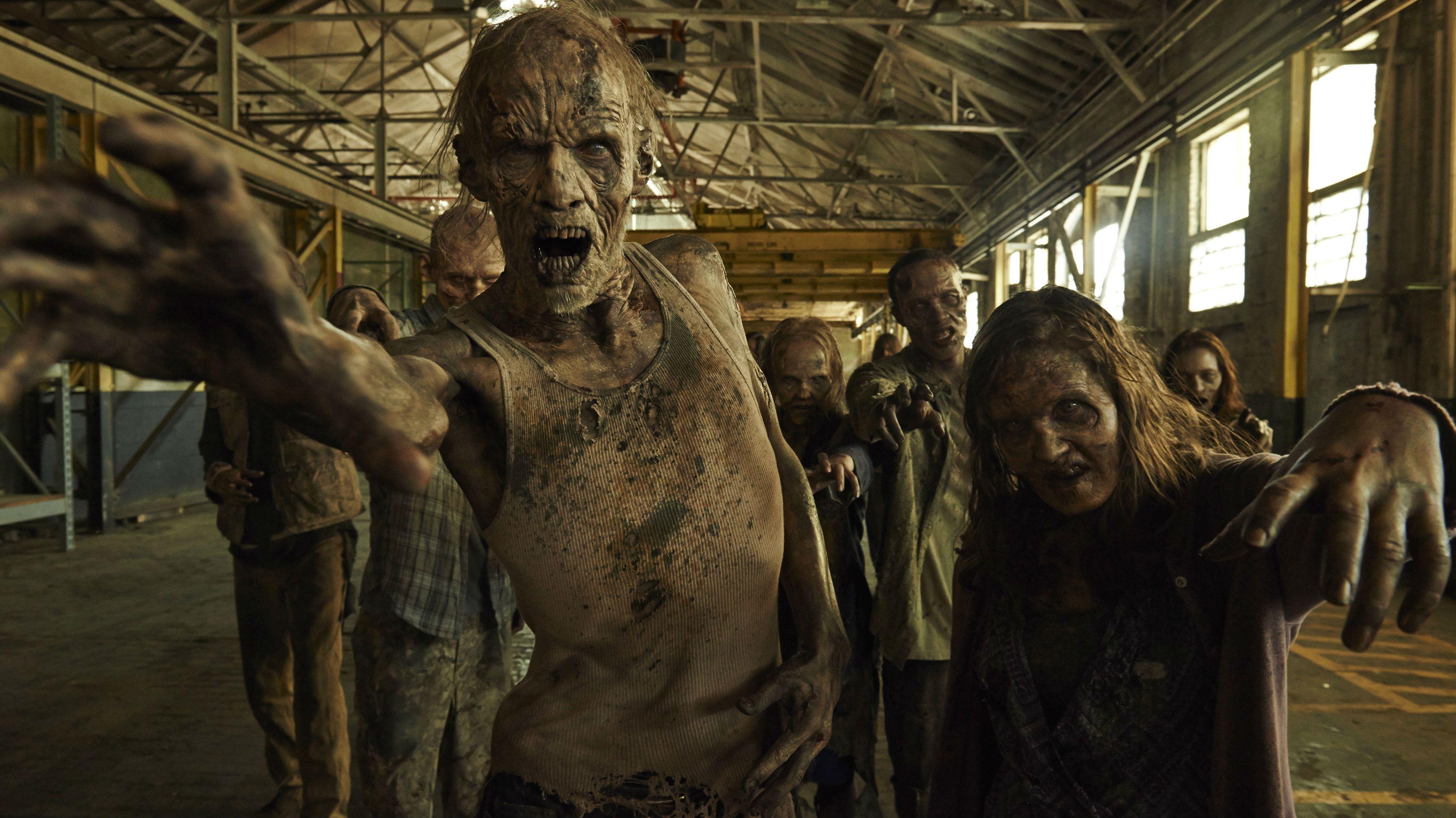 The Walking Dead AMC zombies