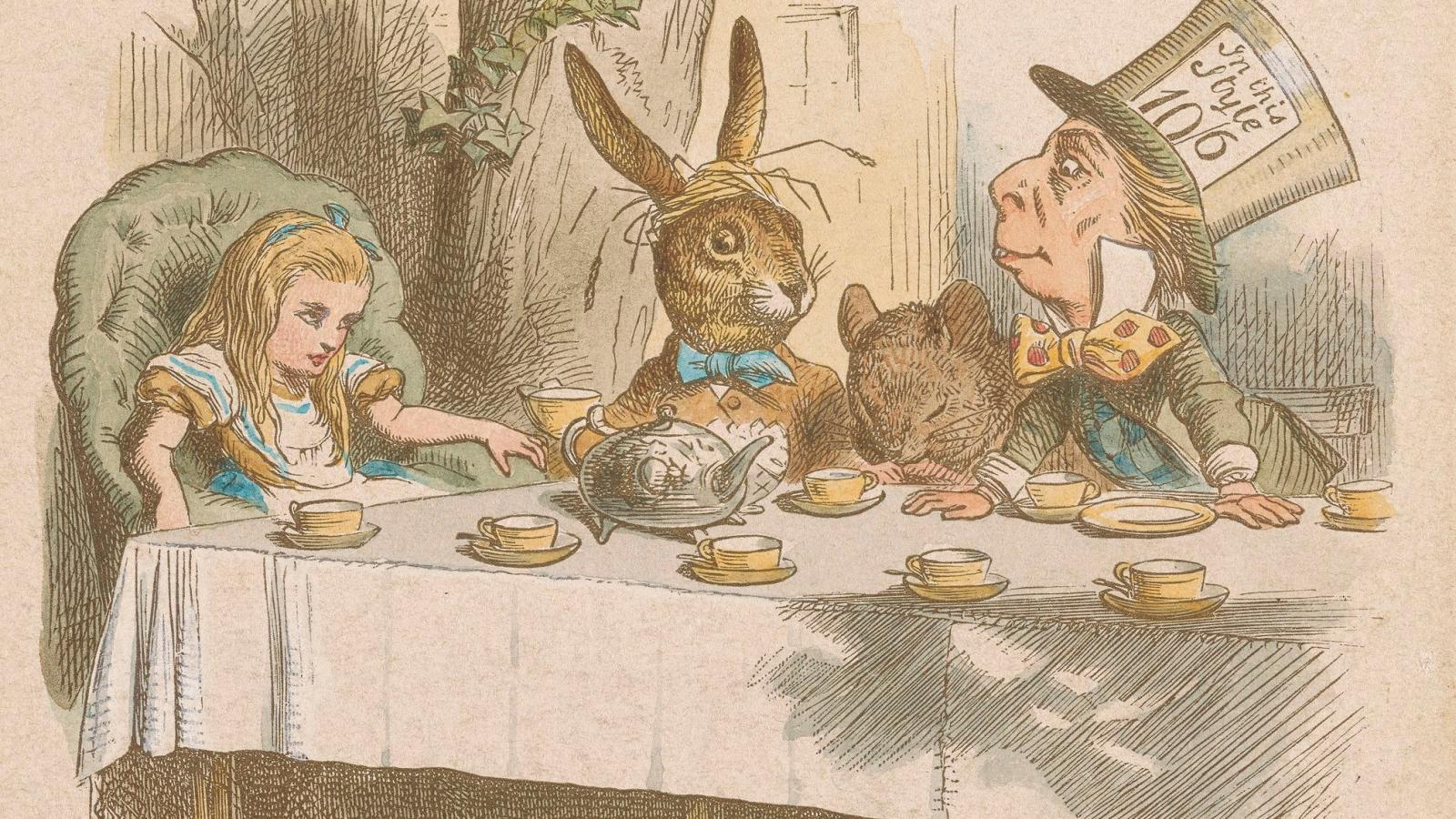 Alice In Wonderland At The Morgan Library The Delights Of
