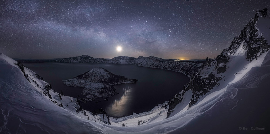 The Crater Lake in Oregon