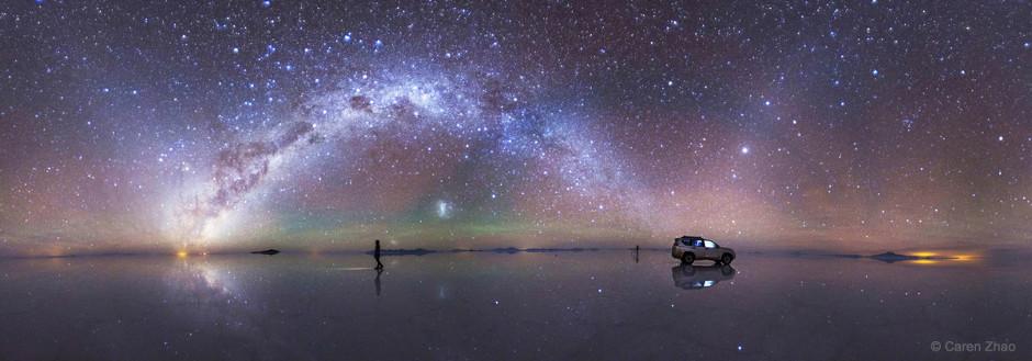 The Salar de Uyuni (Bolivia), as a mirror for the sky