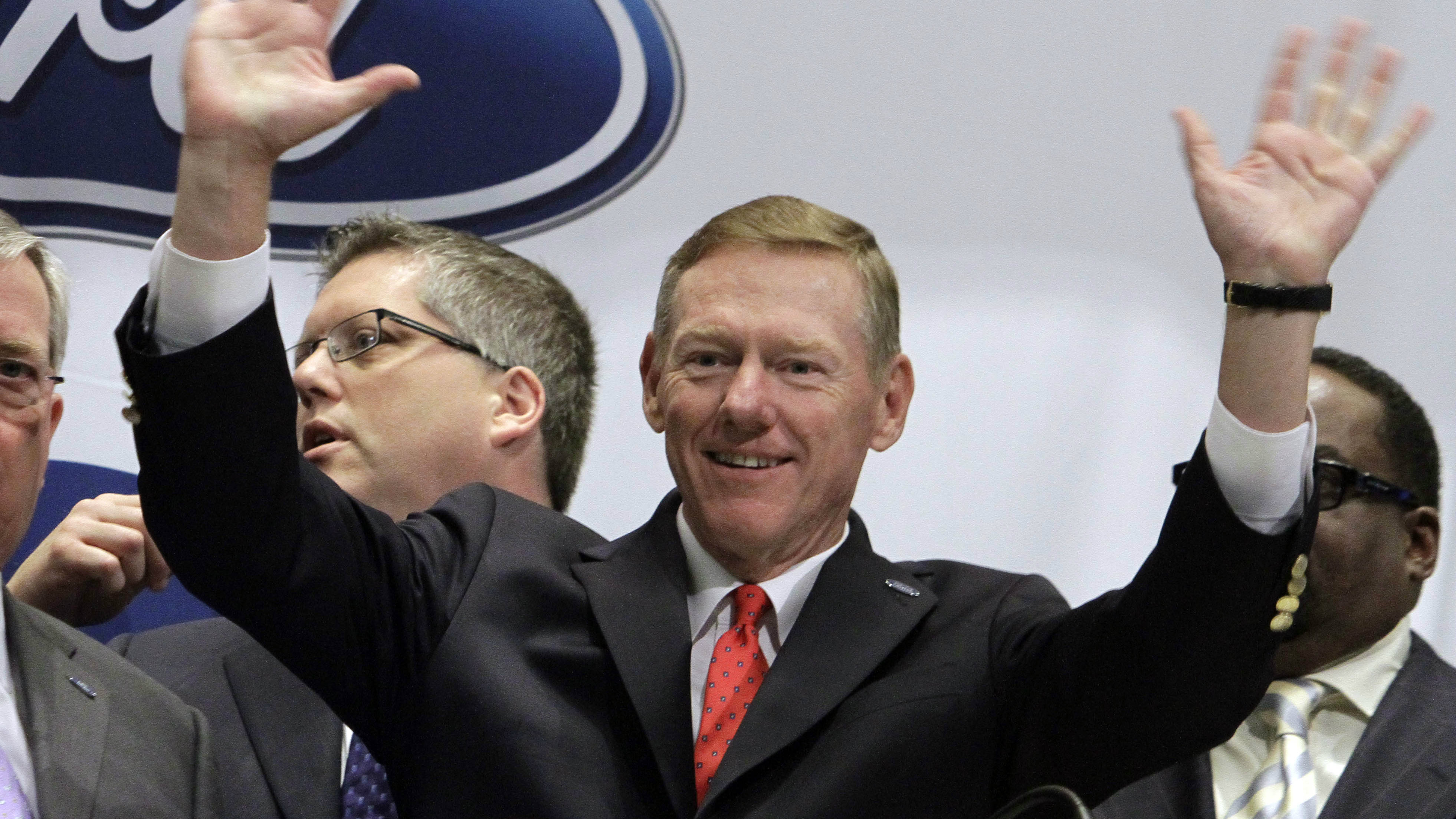 alan mulally s restructuring of ford motor After ford announced that its president and ceo, alan mulally, would be  driving the  news manager for ford motor company communications, what mr  mulally would  to determine whether mr mulally is a good driver, i googled him  and  our plan: we are aggressively restructuring to reduce costs, improve  efficiency,.