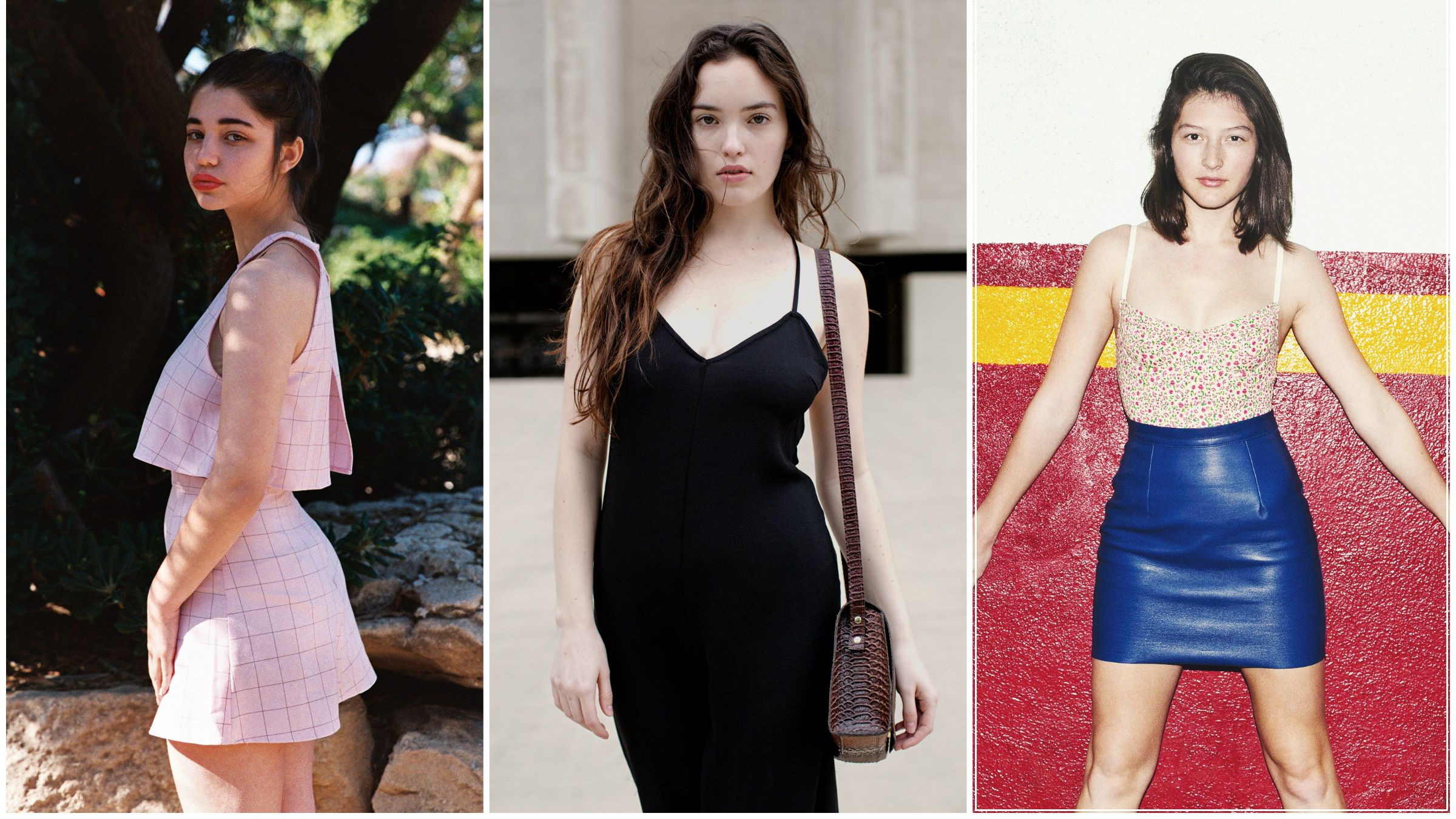 "American Apparel's three female ""psychographics"""