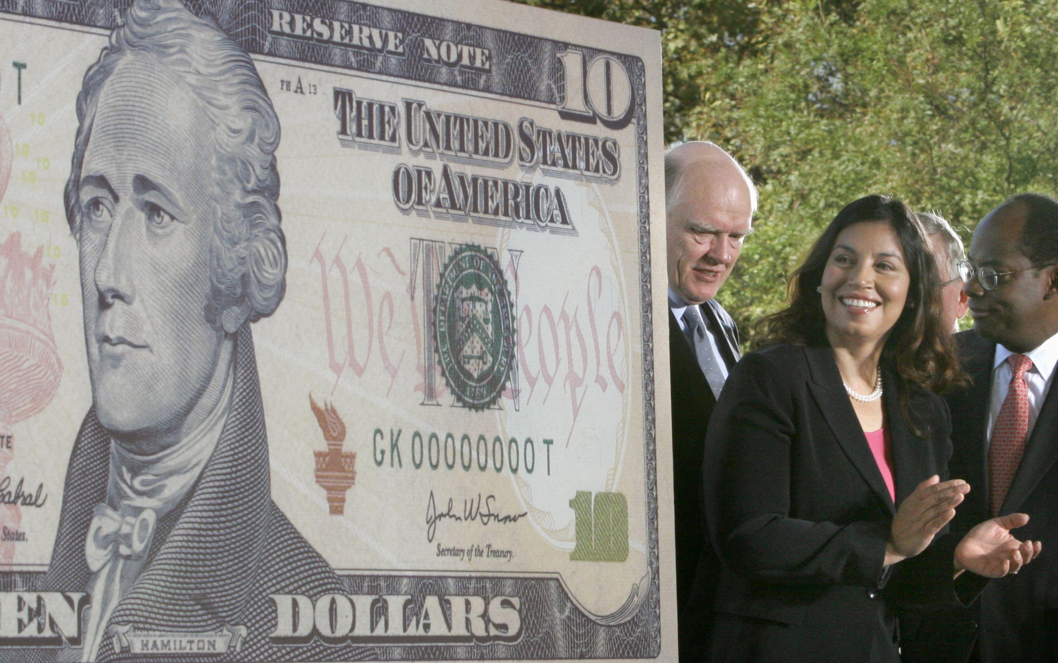 NEW TEN DOLLAR BILL