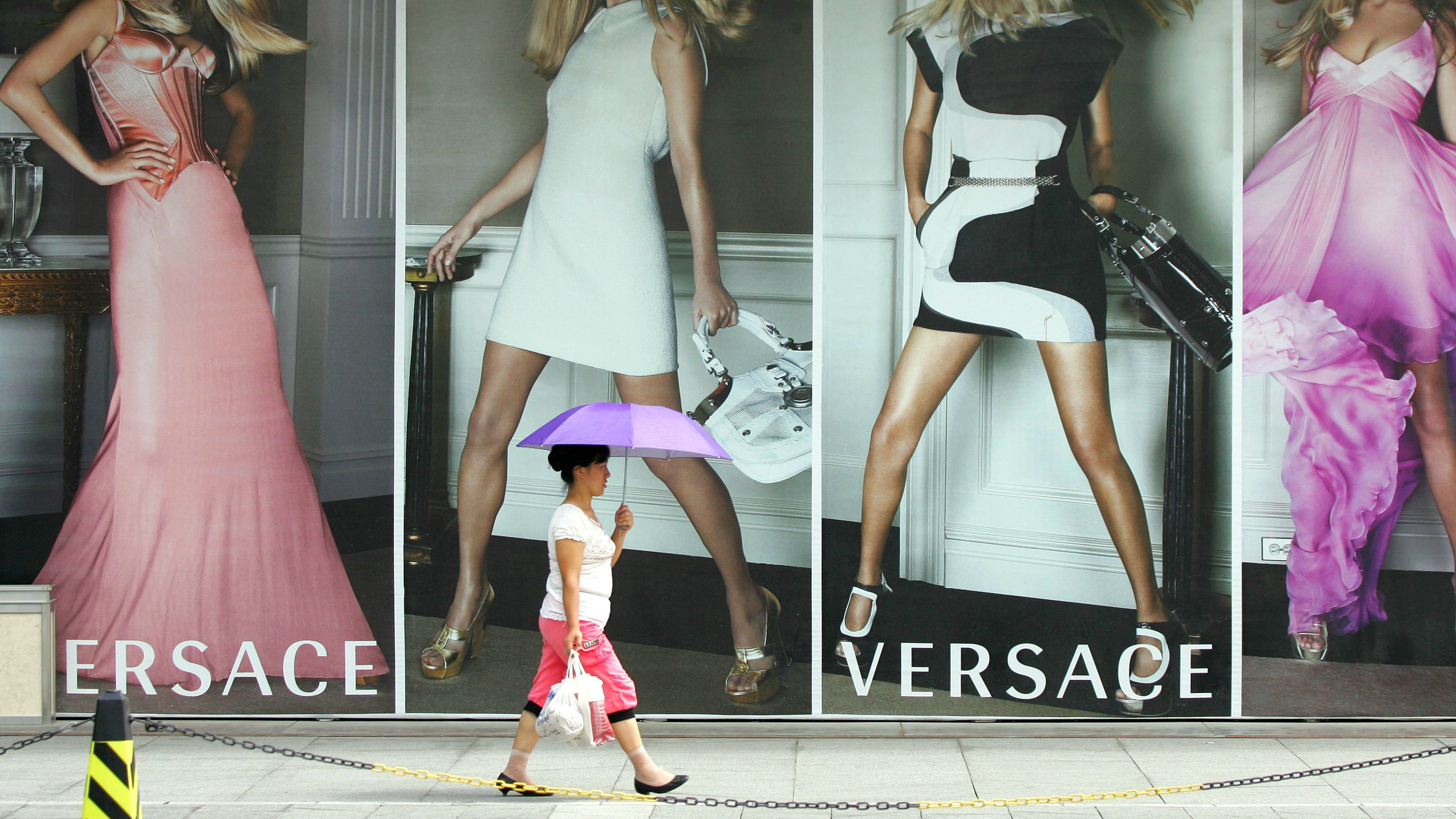 luxury, outlet, versace, shopping