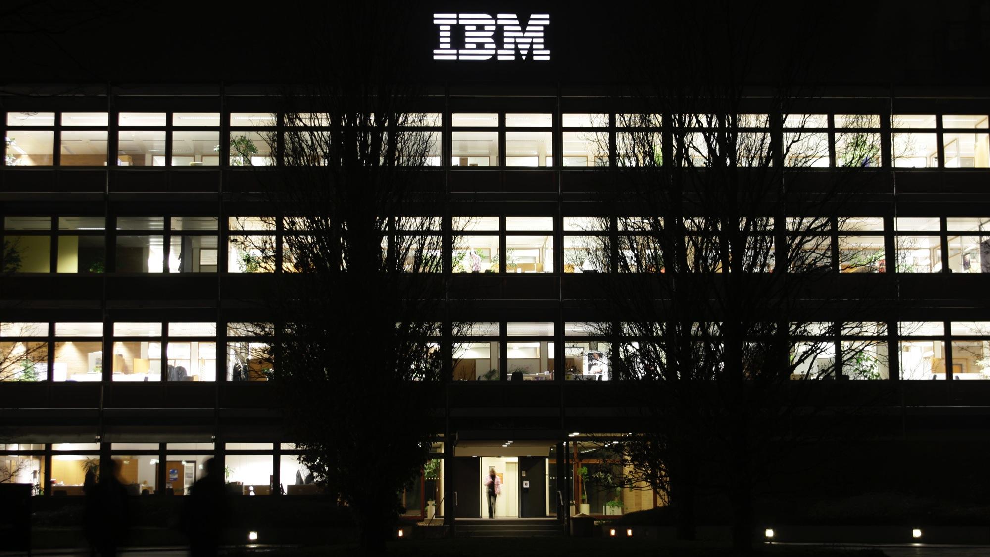 IBM's German HQ in Stuttgart