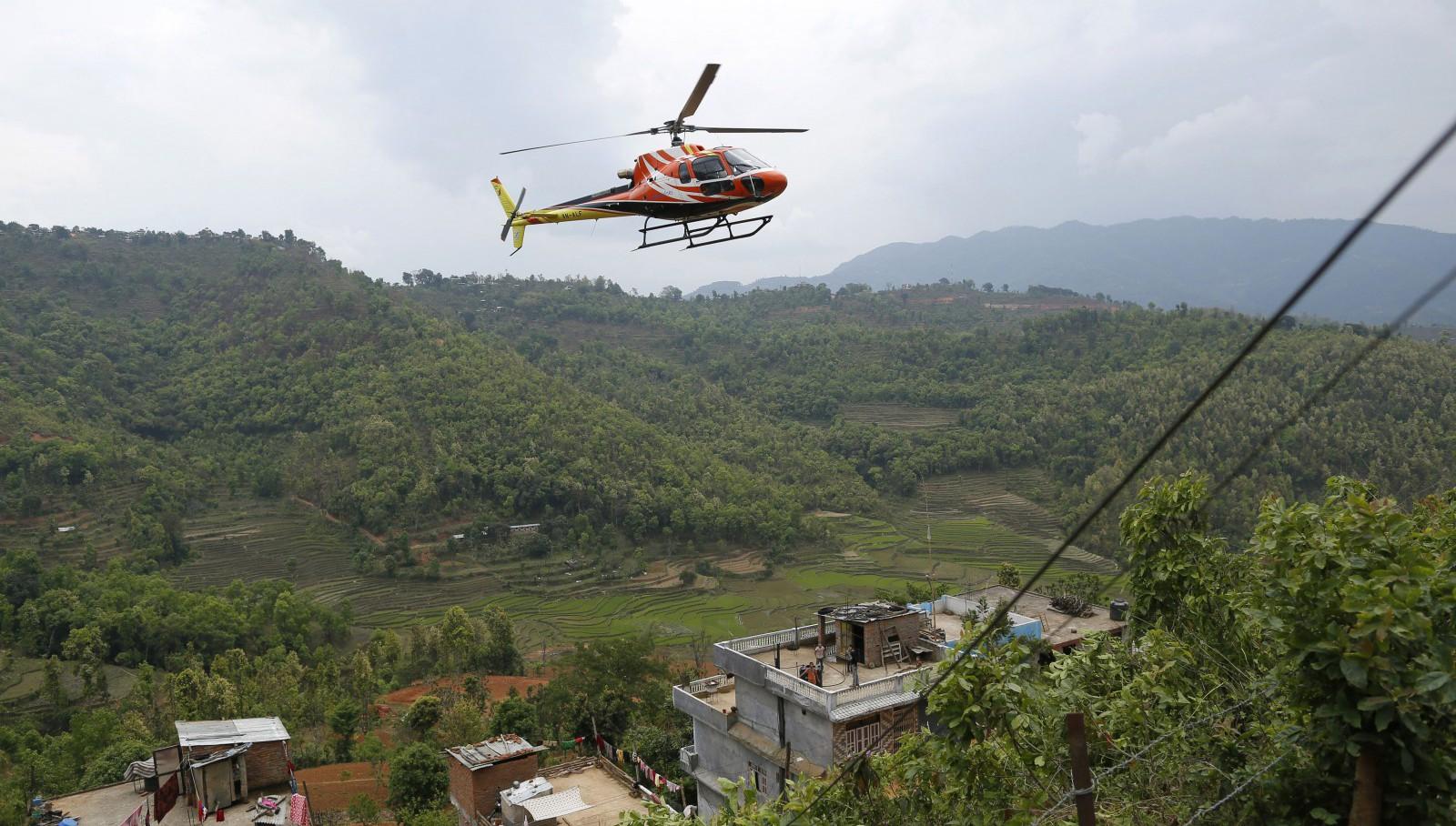 heli in nepal