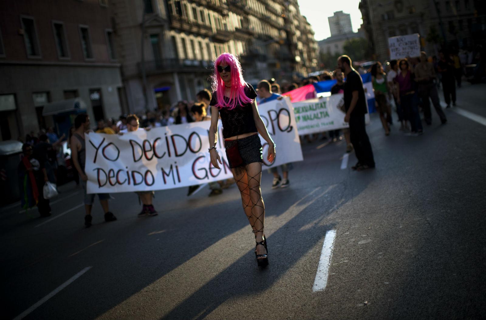 Transgender discrimination is still a problem