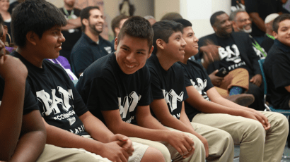 Chicago teens participating in BAM