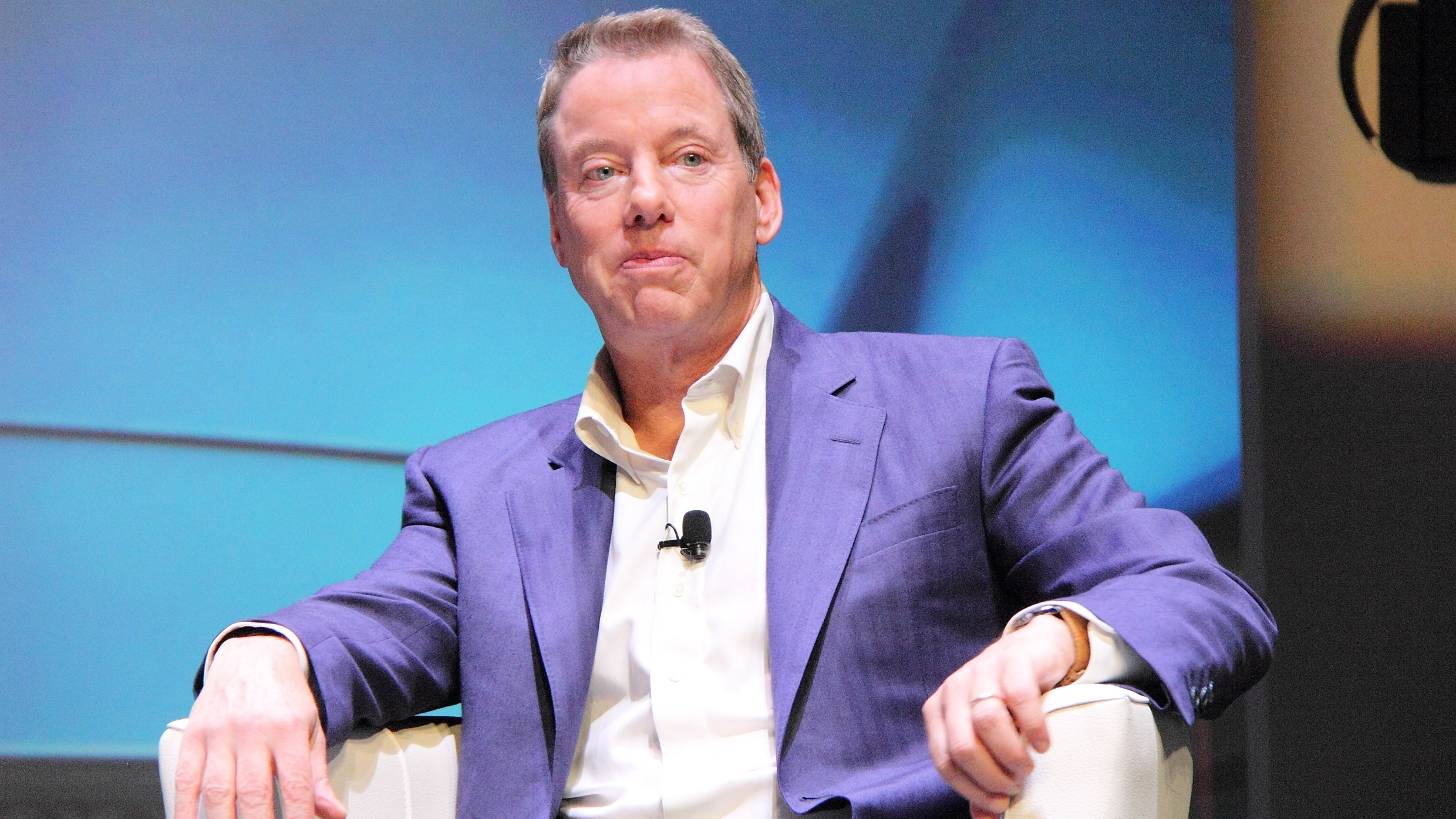 Bill Ford, Ford Motor Company, at the EY Entrepreneur of the Year conference in Monaco, June 4, 2015