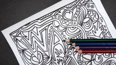 Coloring Books Are Suddenly Catching On With Adults