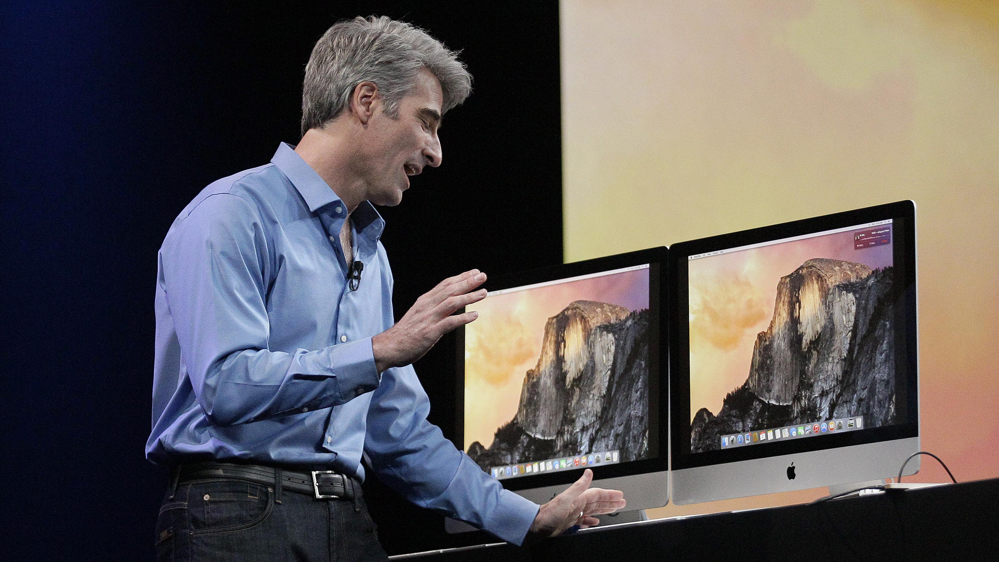 Apple Craig Federighi WWDC