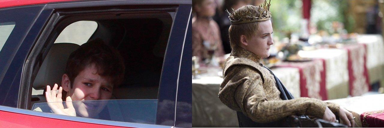 Froilán as Joffrey (Reuters / Stringer / HBO)