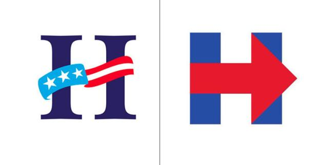 it s official hillary clinton s logo is actually perfect quartz