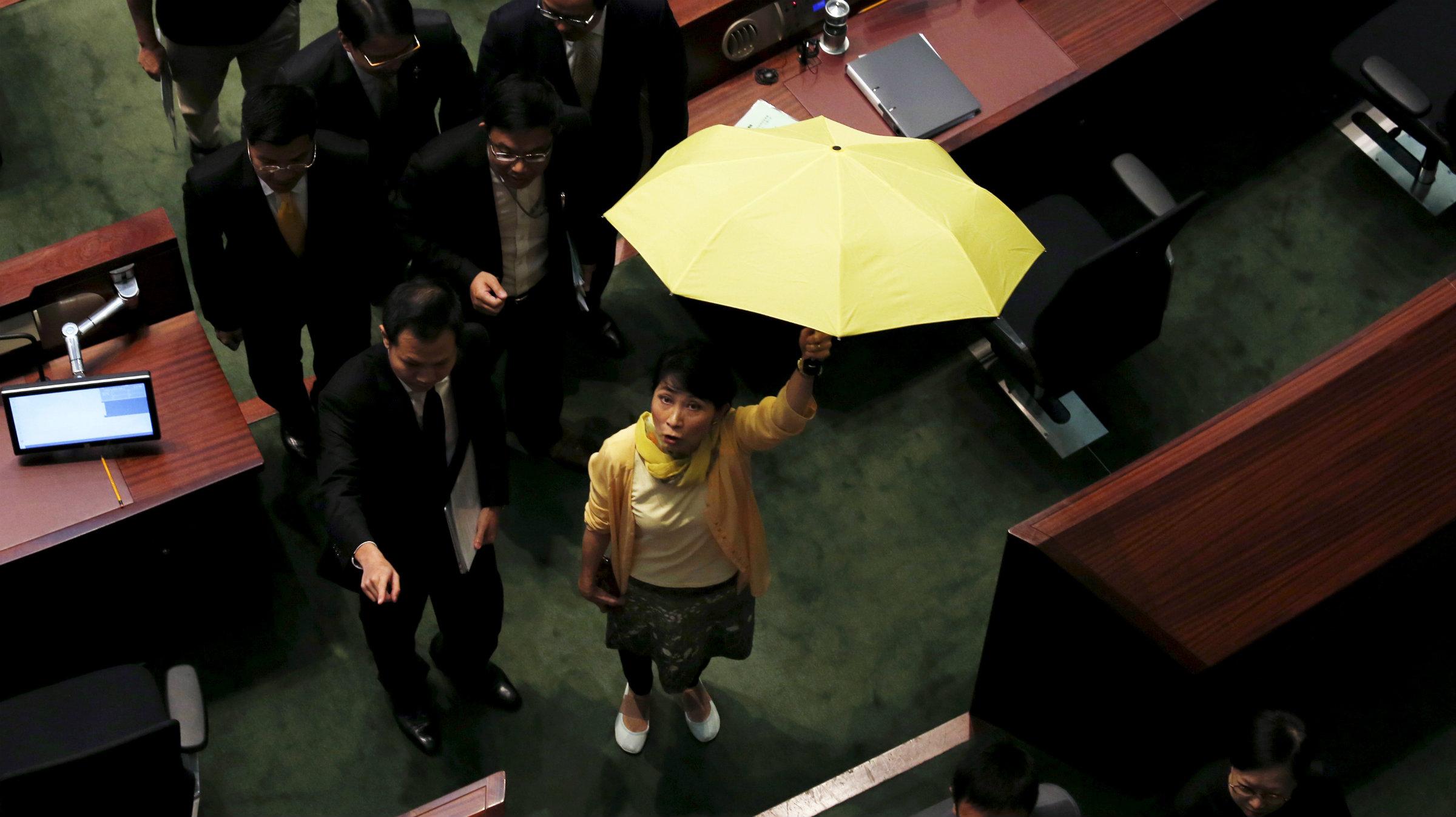 HONG KONG lawmaker Claudia Mo