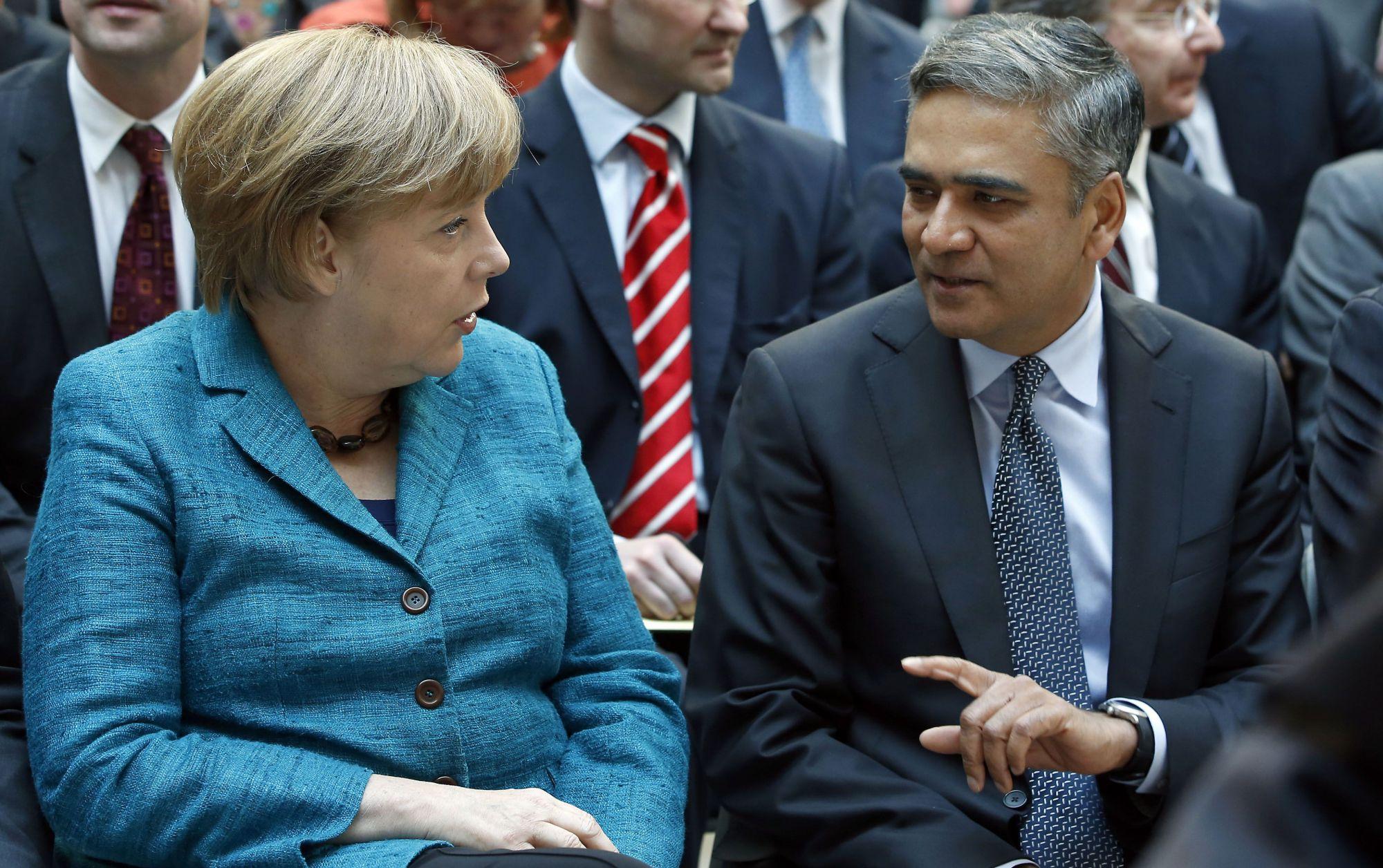 Anshu-Jain-Deutsche-Bank-Merkel-Germany