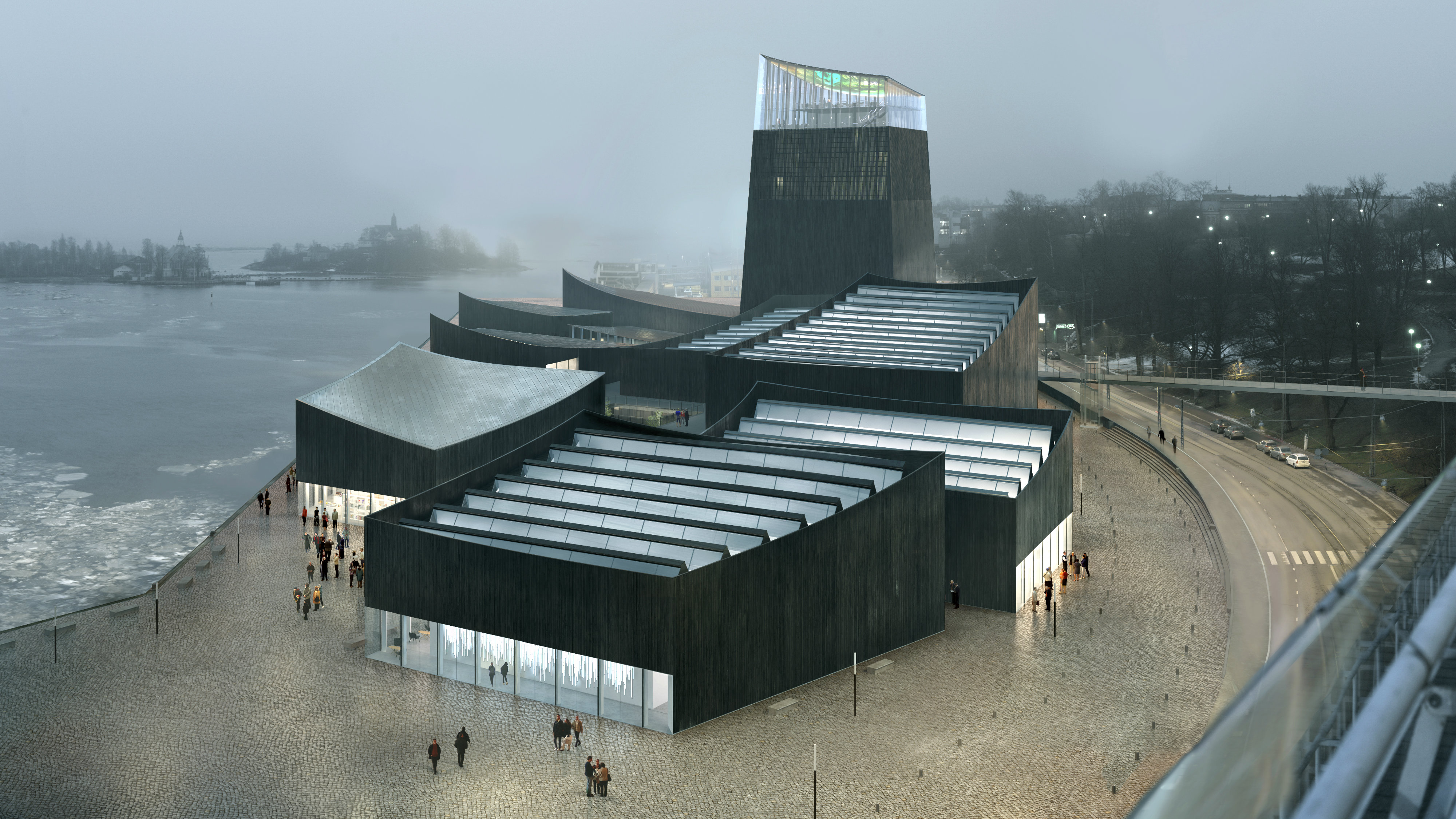 The design of Helsinki's controversial Guggenheim branch, unveiled