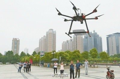 Drones are the newest weapon in the fight against Chinese