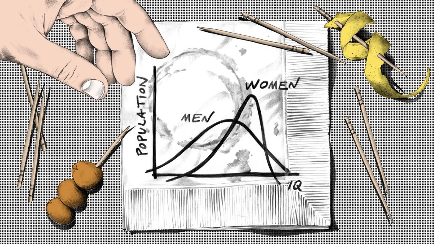 Men are both dumber and smarter than women — Quartz