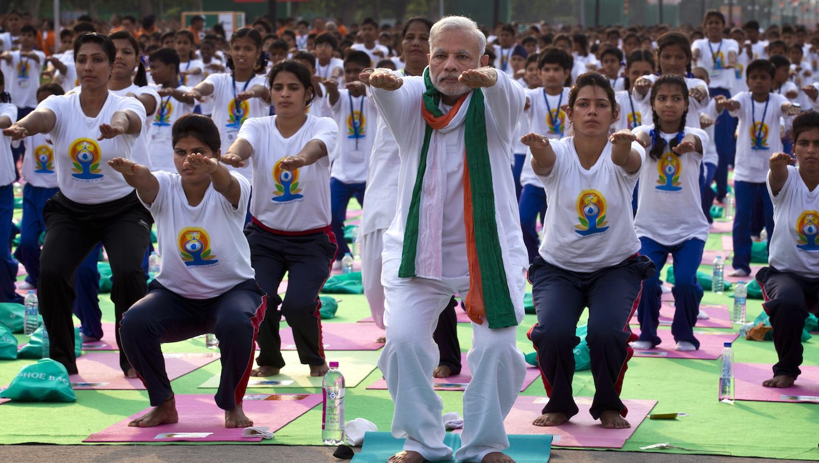 Yoga-Modi