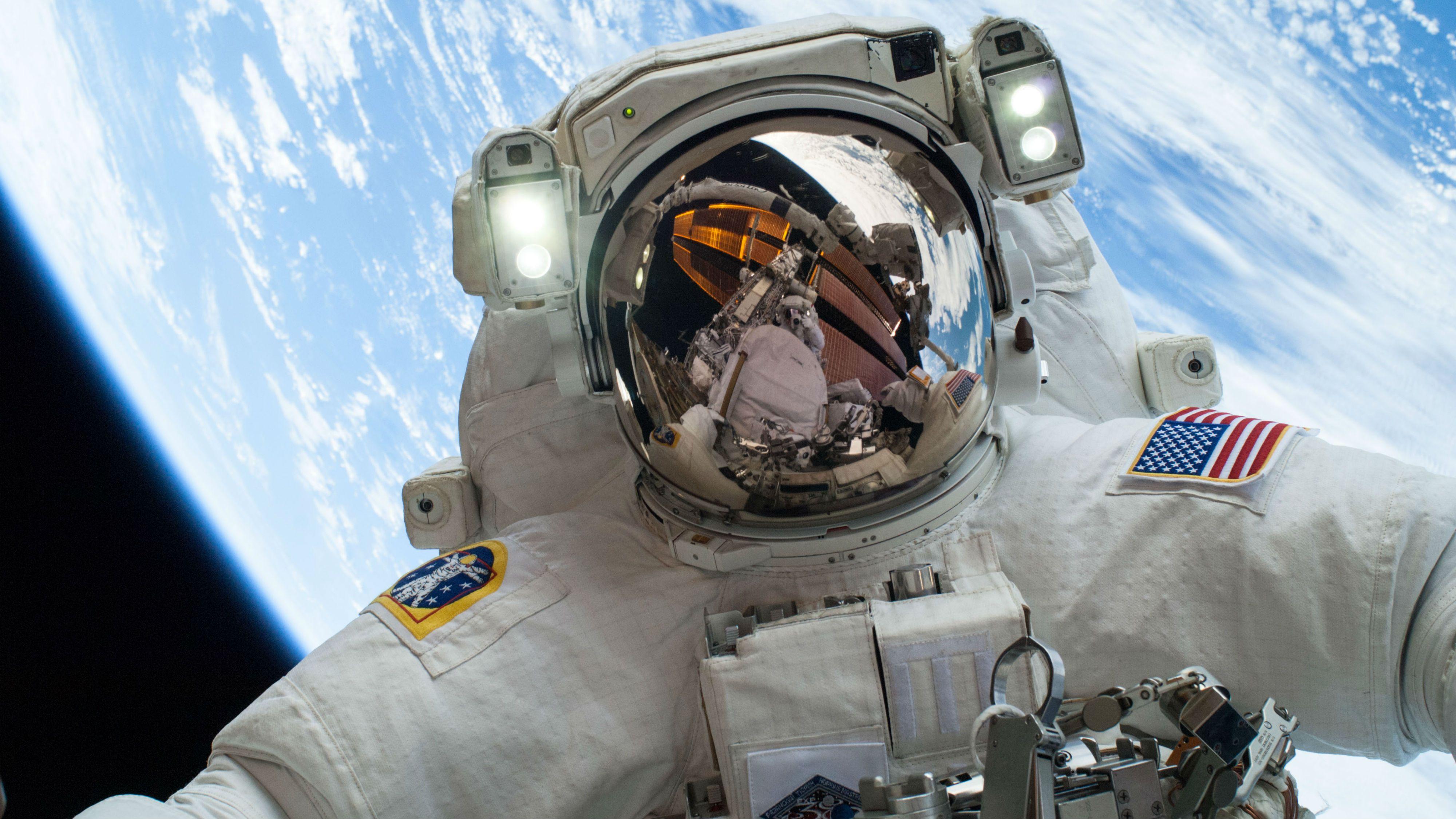 NASA space selfie
