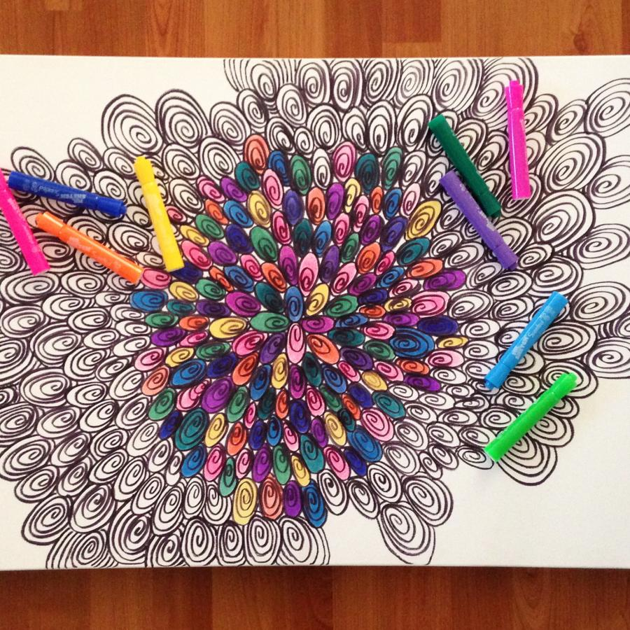 Coloring In This Picture Helped Me Erase 26000 In Debt