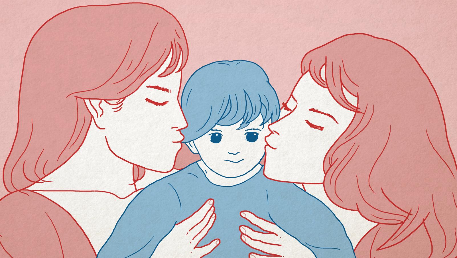 lesbian moms teens