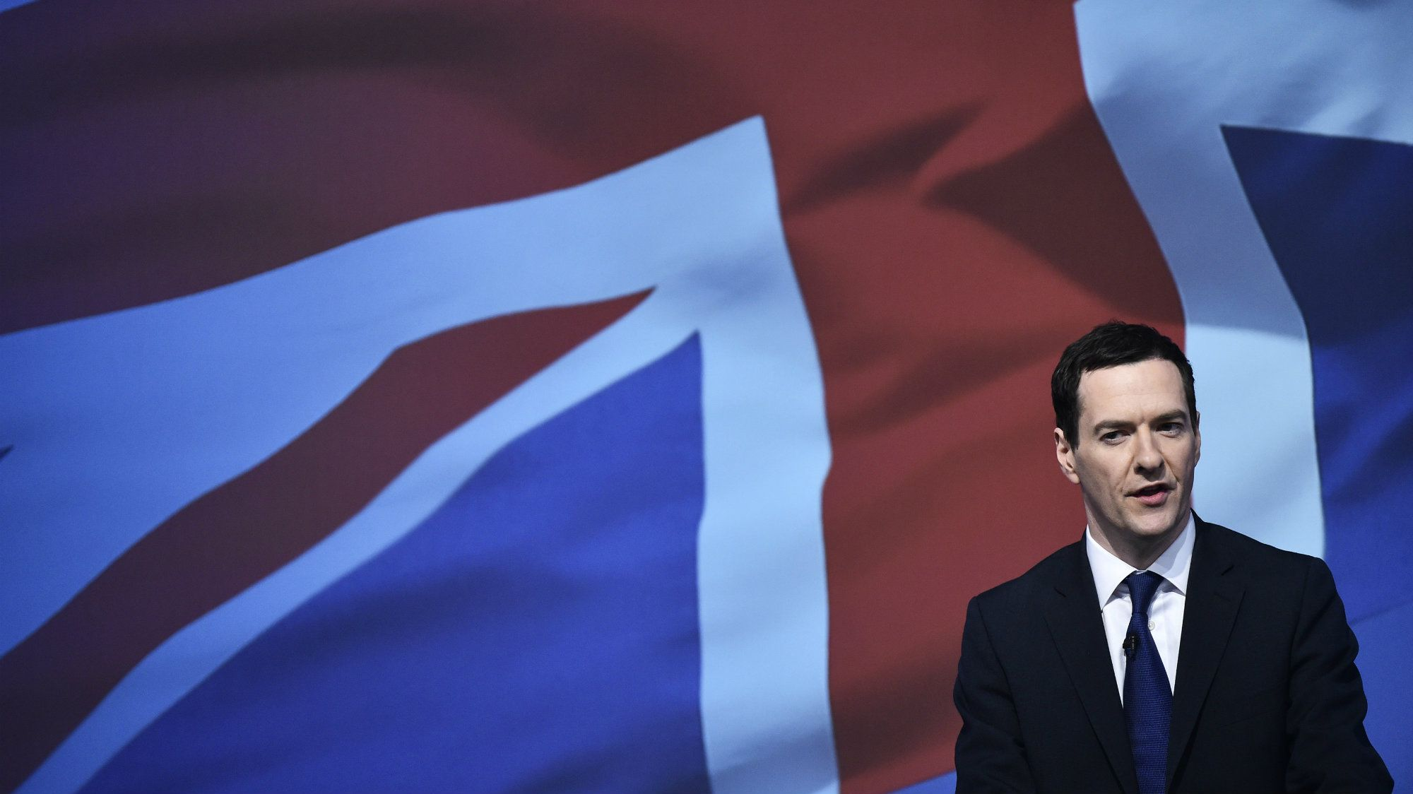 Britain's Chancellor of the Exchequer George Osborne.