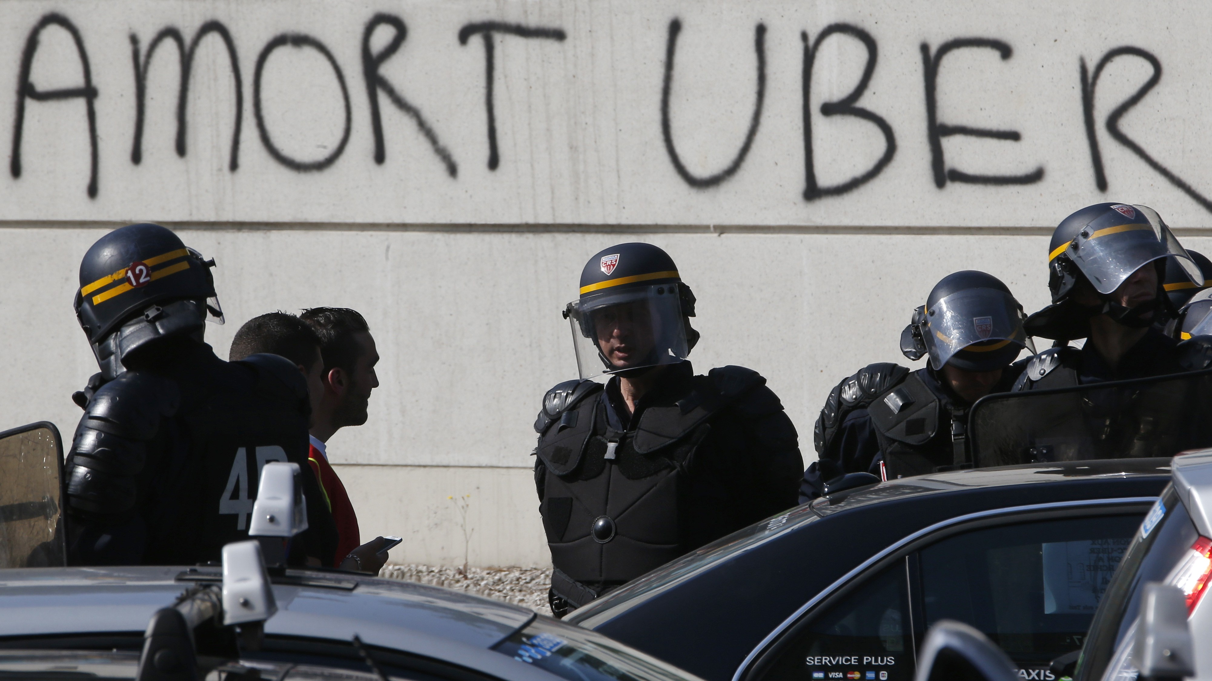 """Death to Uber"""