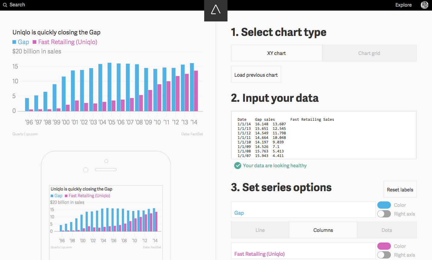 Atlas, the new home for charts and data — Quartz