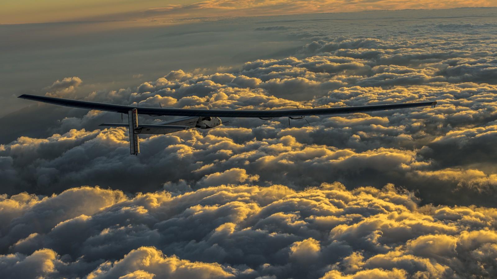 Solar Impulse 2 test flight.